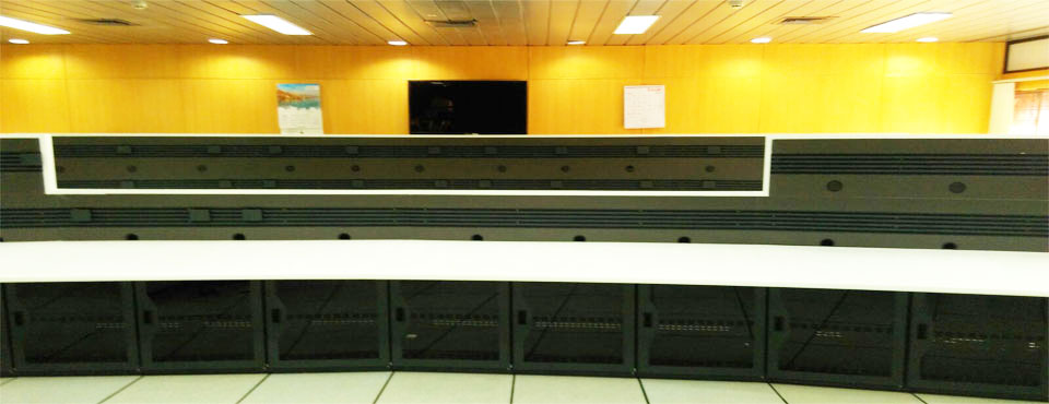 High Profile Data Centre Console for 'ISRO – Bangalore